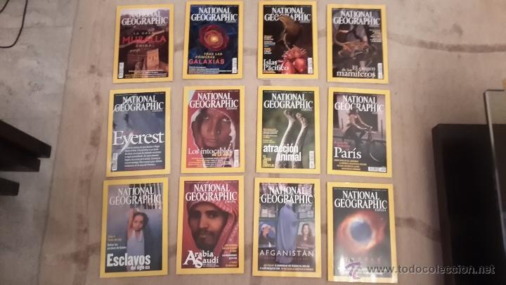 LOTE AÑO 2002 COMPLETO. REVISTA NATIONAL GEOGRAPHIC. 12 REVISTAS (Coleccionismo - Revistas y Periódicos Modernos (a partir de 1.940) - Revista National Geographic)