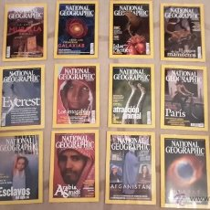 Coleccionismo de National Geographic: LOTE AÑO 2002 COMPLETO. REVISTA NATIONAL GEOGRAPHIC. 12 REVISTAS. Lote 45689996