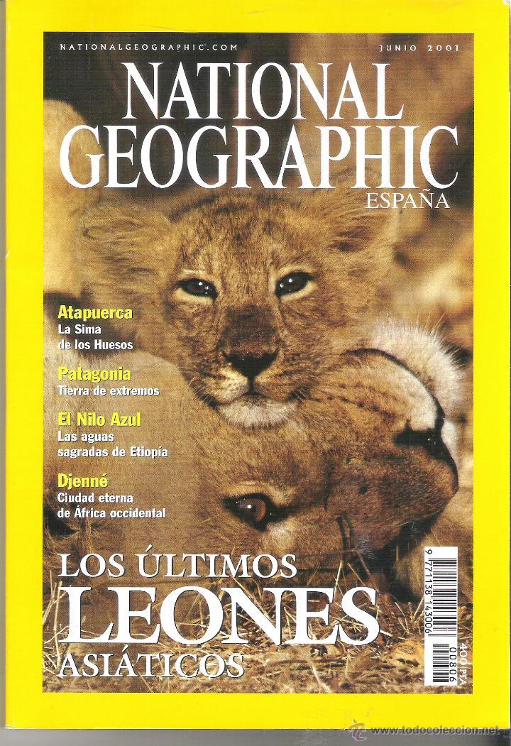 Revista National Geographic Espa 241 Ol Junio 200 Comprar