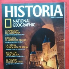 Coleccionismo de National Geographic: HISTORIA NATIONAL GEOGRAPHIC NÚM. 47. CÁTAROS, LA FE DE LOS HEREJES. Lote 46478644