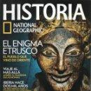 Coleccionismo de National Geographic: HISTORIA NATIONAL GEOGRAPHIC N. 125 - EN PORTADA: EL ENIGMA ETRUSCO (NUEVA). Lote 122999458