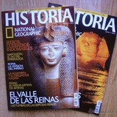 Coleccionismo de National Geographic: LOTE 2 REVISTAS. HISTORIA. NATIONAL GEOGRAPHIC. NÚMEROS 13 Y 14.. Lote 46951258
