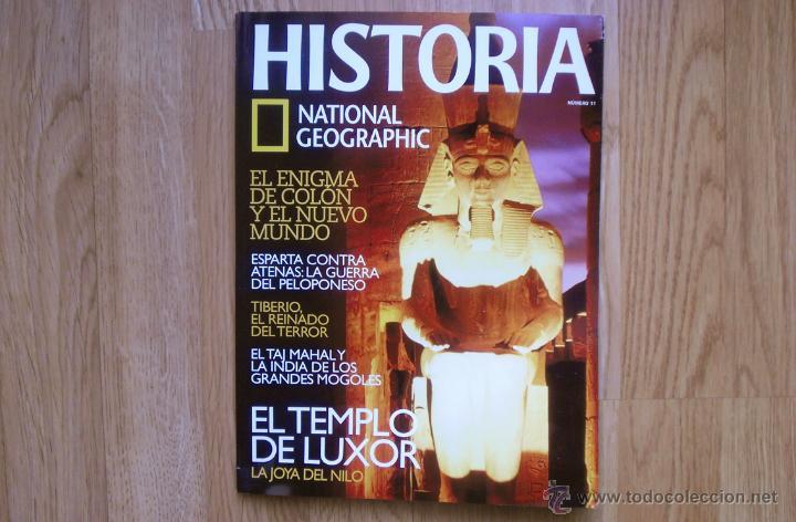 HISTORIA. NATIONAL GEOGRAPHIC. NÚMERO 11. (Coleccionismo - Revistas y Periódicos Modernos (a partir de 1.940) - Revista National Geographic)