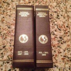 Coleccionismo de National Geographic: COLECCION NATIONAL GEOGRAPHIC AÑO 97/98 COMPLETO 15 REVISTAS CON SU CAJA. Lote 47174379
