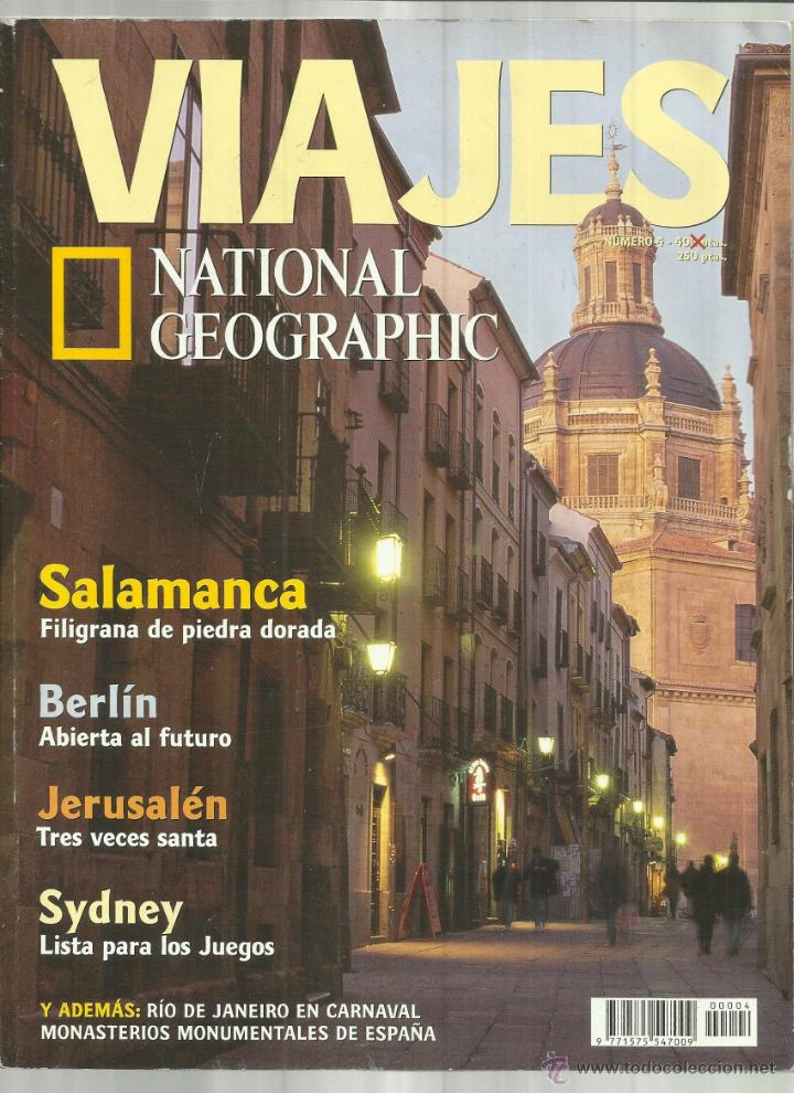 Coleccionismo de National Geographic: NATIONAL GEOGRAPHIC. VIAJES. BARCELONA. 2000. Nº 4 - Foto 1 - 47998614