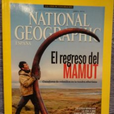 Coleccionismo de National Geographic: NATIONAL GEOGRAPHIC. EL REGRESO DEL MAMUT. ABRIL 2013. REVISTA NUEVA.. Lote 48927002