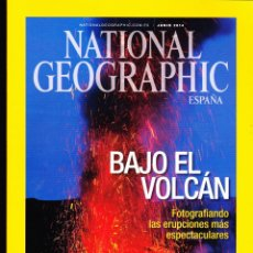 Collezionismo di National Geographic: REVISTA .. NATIONAL GEOGRAPHIC , BAJO EL VOLCÁN .. Lote 236028265