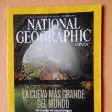 Coleccionismo de National Geographic: NATIONAL GEOGRAPHIC ESPAÑA. LA CUEVA MÁS GRANDE DEL MUNDO. VOL. 28. NÚM. 2 - DIVERSOS AUTORES. Lote 49347165