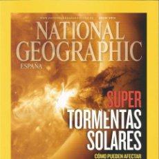 Coleccionismo de National Geographic: NATIONAL GEOGRAPHIC JULIO 7 / 2012 SUPER TORMENTAS SOLARES POMPEYA MONTE EREBUS LENGUAS ANTÁRTIDA. Lote 49355473