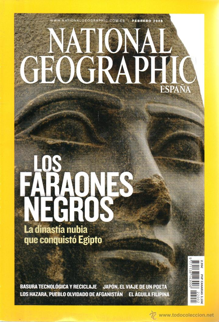 Coleccionismo de National Geographic: . REVISTA NATIONAL GEOGRAPHIC FEBRERO 2008 - Foto 1 - 49761748