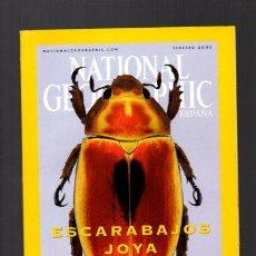 Coleccionismo de National Geographic: NATIONAL GEOGRAPHIC - FEBRERO 2001 - ESCARABAJOS JOYA - EN ESPAÑOL. Lote 109301852