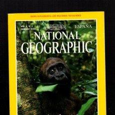 Coleccionismo de National Geographic: NATIONAL GEOGRAPHIC - FEBRERO 2000 - GORILAS HUÉRFANOS:¿SOBREVIVIRÁN EN LIBERTAD? - EN ESPAÑOL. Lote 50033970