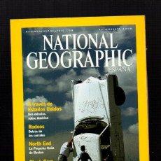 Coleccionismo de National Geographic: NATIONAL GEOGRAPHIC - DICIEMBRE 2000 - GENUINAMENTE AMERICANO - EN ESPAÑOL. Lote 50033990