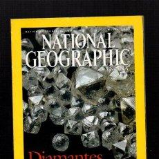 Coleccionismo de National Geographic: NATIONAL GEOGRAPHIC - MARZO 2002 - DIAMANTES, SU VERDADERA HISTORIA - EN ESPAÑOL. Lote 50034056