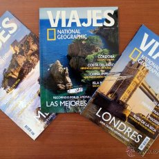 Coleccionismo de National Geographic: LOTE 3 REVISTAS VIAJES NATIONAL GEOGRAPHIC. LONDRES – MÉJICO – MEJORES PLAYAS. Nº 51, 58, 72. Lote 50284874