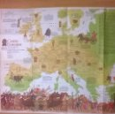 Coleccionismo de National Geographic: MAPA EUROPA CELTA - NATIONAL GEOGRAPHIC 1977 (ED. INGLÉS). Lote 50293091