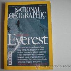 Coleccionismo de National Geographic: REVISTA NATIONAL - GEOGRAPHIC - ESPAÑA - AÑO - MAYO 2003 - EVEREST - 50 AÑOS DESPUES --. Lote 51144413