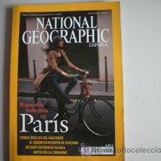Coleccionismo de National Geographic: REVISTA NATIONAL - GEOGRAPHIC - ESPAÑA - AÑO - AGOSTO 2003 - RAPSODIA BOHEMIA EN PARIS -. Lote 51144535