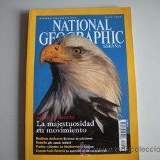 Coleccionismo de National Geographic: REVISTA NATIONAL - GEOGRAPHIC - ESPAÑA - AÑO - JULIO 2002 - AGUILAS CALVAS - -. Lote 51144669