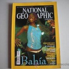 Coleccionismo de National Geographic: REVISTA NATIONAL - GEOGRAPHIC - ESPAÑA - AÑO - AGOSTO 2002 - B A H I A -. Lote 51144701