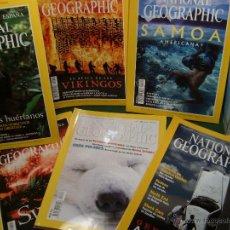 Coleccionismo de National Geographic: LOTE NATIONAL GEOGRAPHIC EN ESPAÑOL AÑO 2000 NUEVAS. Lote 51193923