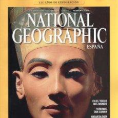 Coleccionismo de National Geographic: NATIONAL GEOGRAPHIC N. 32002 FEBRERO 2013 - EN PORTADA: EL VERDADERO ROSTRO DE NEFERTITI (NUEVA). Lote 58238277