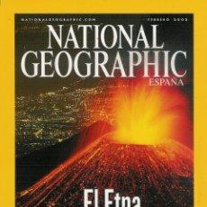 Coleccionismo de National Geographic: NATIONAL GEOGRAPHIC FEBRERO 2002-SIDA-ARRECIFES DE CUBA-EL ETNA-LOS STAN-GUERRA A LA ENFERMEDAD.... Lote 53522244