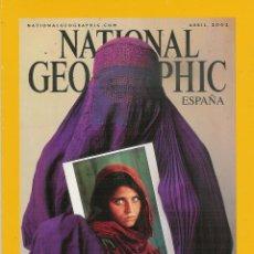 Coleccionismo de National Geographic: NATIONAL GEOGRAPHIC ABRIL 2002-UNA VIDA DESVELADA-TIBETANOS-LEONES-BUEYES ALMIZCLEROS..... Lote 53522250