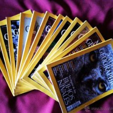 Coleccionismo de National Geographic: REVISTA NATIONAL GEOGRAPHIC AÑO 2002 COMPLETO - 12 REVISTAS - RBA. Lote 53659483