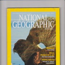 Coleccionismo de National Geographic: NATIONAL GEOGRAPHIC - SEPTIEMBRE 2001. Lote 53969907