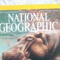 Coleccionismo de National Geographic: REVISTA NATIONAL GEOGRAPHIC - HIPOPÓTAMOS FUENTE DE VIDA- NOVIEMBRE 2001. Lote 54403646