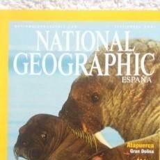 Coleccionismo de National Geographic: REVISTA NATIONAL GEOGRAPHIC -MORSAS - SEPTIEMBRE 2001. Lote 54403713