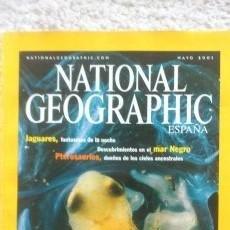 Coleccionismo de National Geographic: REVISTA NATIONAL GEOGRAPHIC - EL FRÁGIL MUNDO DE LAS RANAS - MAYO 2001. Lote 54403895