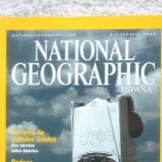 Coleccionismo de National Geographic: REVISTA NATIONAL GEOGRAPHIC - GENUINAMENTE AMERICANO - DICIEMBRE 2000. Lote 54404059