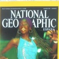 Coleccionismo de National Geographic: REVISTA NATIONAL GEOGRAPHIC -BAHÍA- AGOSTO 2002. Lote 54402998
