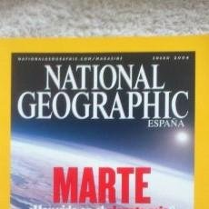 Coleccionismo de National Geographic: REVISTA NATIONAL GEOGRAPHIC - MARTE ¿ HAY VIDA EN EL PLANETA ROJO? - ENERO 2004. Lote 54405283
