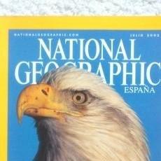 Coleccionismo de National Geographic: REVISTA NATIONAL GEOGRAPHIC -LA MAJESTUOSIDAD EN MOVIMIENTO- JULIO 2002. Lote 54403026