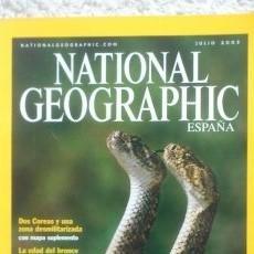 Coleccionismo de National Geographic: REVISTA NATIONAL GEOGRAPHIC - ATRACCIÓN ANIMAL - JULIO 2003. Lote 54405529