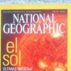 Coleccionismo de National Geographic: REVISTA NATIONAL GEOGRAPHIC - EL SOL- JULIO 2004. Lote 54402622
