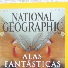 Coleccionismo de National Geographic: REVISTA NATIONAL GEOGRAPHIC -ALAS FANTÁSTICAS- MAYO 2002. Lote 54403137