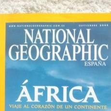 Coleccionismo de National Geographic: REVISTA NATIONAL GEOGRAPHIC - ÁFRICA- SEPTIEMBRE 2005. Lote 54402133