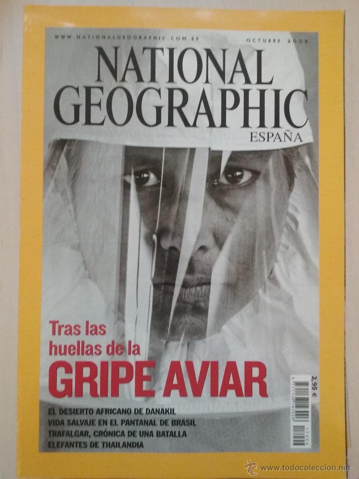 LOTE REVISTAS NATIONAL GEOGRAPHIC AÑO 2005 (Coleccionismo - Revistas y Periódicos Modernos (a partir de 1.940) - Revista National Geographic)