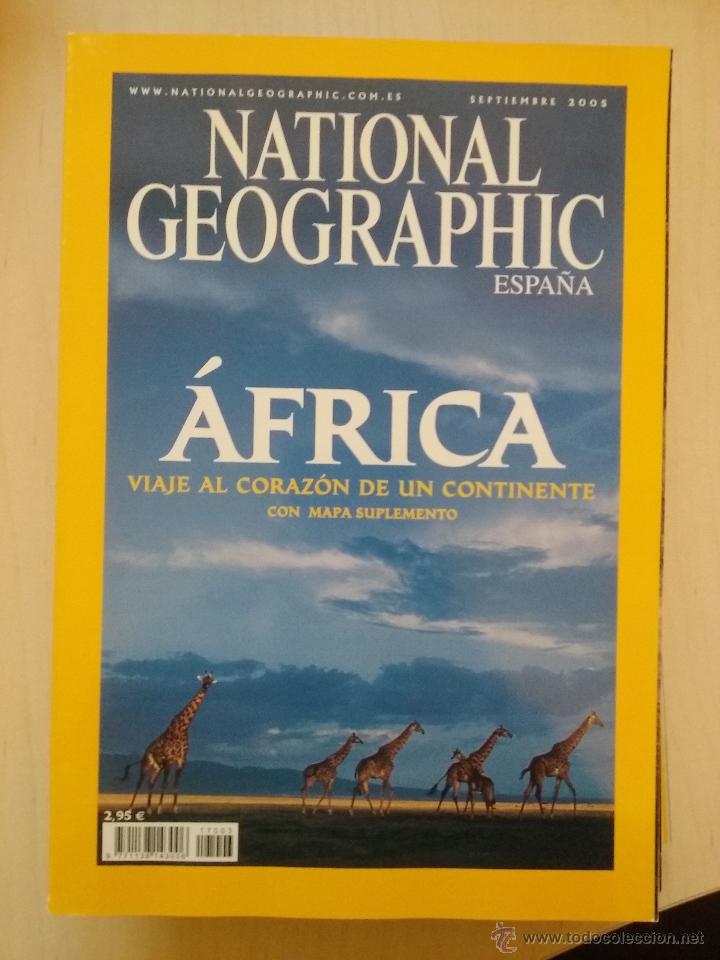 Coleccionismo de National Geographic: LOTE REVISTAS NATIONAL GEOGRAPHIC AÑO 2005 - Foto 2 - 54397225