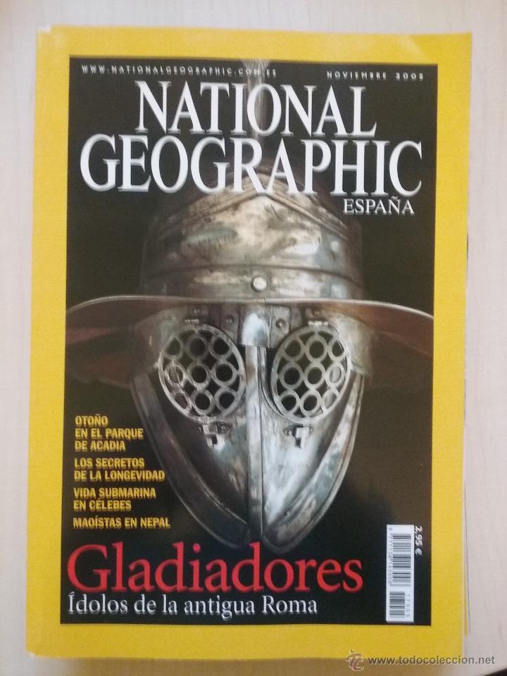 Coleccionismo de National Geographic: LOTE REVISTAS NATIONAL GEOGRAPHIC AÑO 2005 - Foto 3 - 54397225