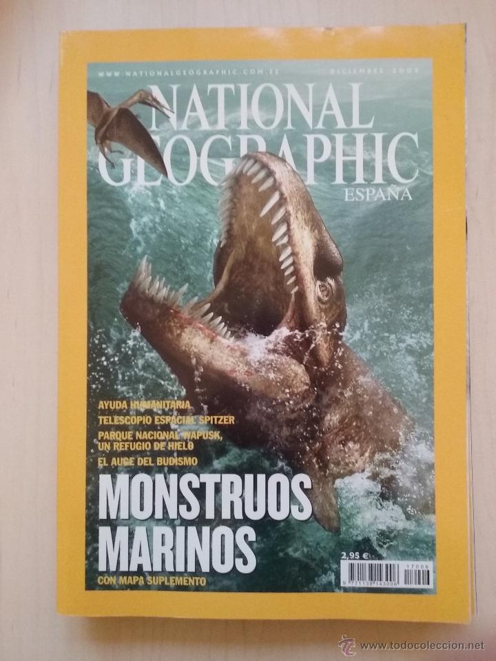Coleccionismo de National Geographic: LOTE REVISTAS NATIONAL GEOGRAPHIC AÑO 2005 - Foto 4 - 54397225