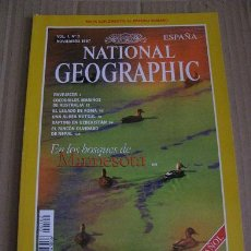 Coleccionismo de National Geographic: NATIONAL GEOGRAPHIC (VOL.1,Nº2) NOVIEMBRE 1997. Lote 54498975