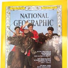 Coleccionismo de National Geographic: REVISTA NATIONAL GEOGRAPHIC. ENERO 1968. VOL. 133, Nº 1. EDICIÓN INGLÉS. Lote 54602316