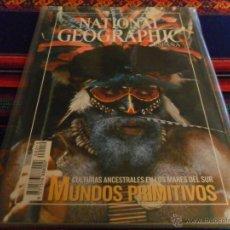 Coleccionismo de National Geographic: NATIONAL GEOGRAPHIC ESPAÑA EDICIÓN ESPECIAL MUNDOS PRIMITIVOS. REGALO HISTORIA Nº 129. BUEN ESTADO.. Lote 54740232