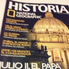 Coleccionismo de National Geographic: JULIO II, EL PAPA DEL RENACIMIENTO. Lote 55685678