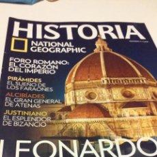 Coleccionismo de National Geographic: LEONARDO DA VINCI, UN GENIO EN LAS CORTE DEL RENACIMIENTO ITALIANO. Lote 55685773